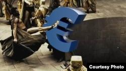 Фотоколаж референдуму в Греції