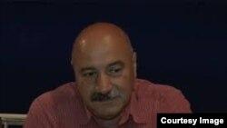 Արցախի ազատագրական բանակի հրամանատար, ԼՂ Ինքնապաշտպանության խորհրդի անդամ Արկադի Կարապետյանը: