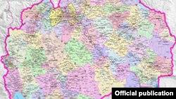 Плански региони и општини. Извор: Министерство за локална самоуправа. Северна Македонија е исклучително нерамномерно развиена земја, пакужуваат истражувањата.