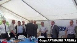 Встреча в Эргнети прошла в обычном режиме без каких-либо происшествий