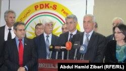 القيادة الجديدة للحزب الديمقراطي الكردستاني - سوريا