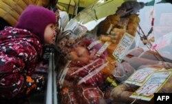 Белорусские пищевые продукты на прилавках российских магазинов