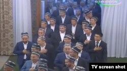 Имомларни президент Мирзиёев бу йил ифторга таклиф қилган эди.