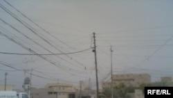 أسلاك كهربائية في المقدادية، ديالى- العراق