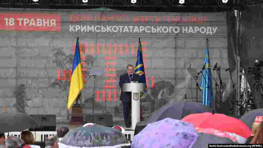 Событие посетил глава Меджлиса крымскотатарского народа Рефат Чубаров