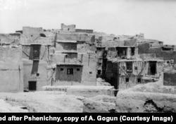 Общий вид одного из жилых кварталов Кабула, 1930 г. Несмотря на то что Афганистан был беден даже по меркам Среднего Востока, в 1920–1930-е годы туда бежали сотни тысяч жителей Таджикистана, Узбекистана и Туркмении