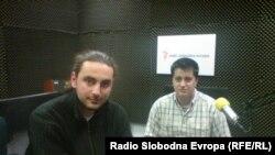 Edin Redžić i Nedim Klipo, aktivisti organizacije JOSD: