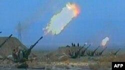 سلاحهای پدافند هوایی ایران در یک رزمایش.