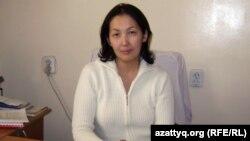 Республикалық психиатрия, психотерапия және наркология ғылыми-практикалық орталығының бөлім меңгерушісі Жібек Жүнісова. Алматы, 16 қазан 2012.