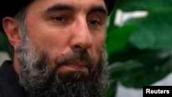 Afghan warlord Gulbuddin Hekmatyar in a 2002 photograph