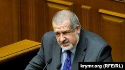 Рефат Чубаров, председатель меджлиса крымско-татарского народа.