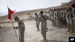 Ushtarë amerikanë në Afganistan.