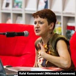 Оксана Забужко, украинская писательница и поэтесса