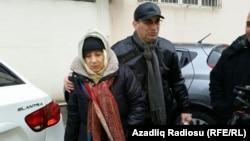Լեյլա և Արիֆ Յունուսները բանտից դուրս գալուց հետո, 9-ը դեկտեմբերի, 2015թ․