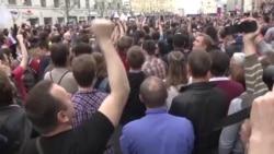 Более 900 задержанных в Москве
