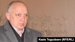 """Владимир Козлов, лидер запрещенной в Казахстане партии """"Алга"""". Алматы, январь 2011 года."""