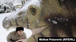 """""""Svijet dinosaurusa"""" u sarajevskoj Pionirskoj dolini"""