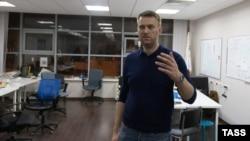 Алексей Навальный в офисе ФБК