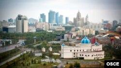 Pamje nga kryeqyteti Astan në Kazakistan