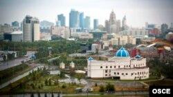 Տեսարան Ղազախստանի մայրաքաղաք Աստանայից, արխիվ