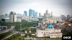 Астана қаласының көрінісі (Көрнекі сурет).