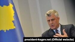Predsednik Kosva Hašim Tači
