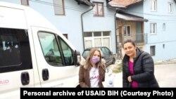 SOS tim GIVE US A CHANCE, Sarajevo