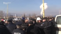Zenica: Radnici povrijeđeni u sukobu s policijom