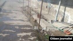 Из туалета рынка «Барака Савдо» ликвидировали все предметы для совершения омовения.