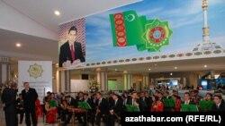 Праздничный концерт в Ашхабаде (архивное фото)