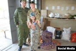 Богдана Нещерет залучена до допомоги на кухні бойовиків