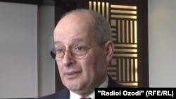 Минскидеги адам укуктары боюнча абалды көзөмөлдөгөн БУУнун атайын докладчысы Миклош Харашти.