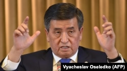 Blatant attacks on media and speech freedoms became less frequent under Kyrgyz President Sooronbai Jeenbekov, HRW says.