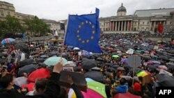 Protest protiv izlaska iz EU nakon referendumske odluke, London, 29. juni 2016.