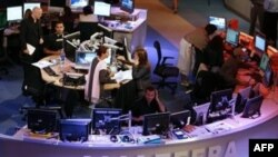 استودیو اصلی شبکه تلویزیونی الجزیره در قطر