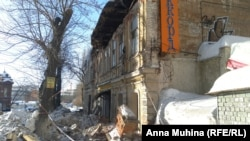 Обрушения на улице Радищева