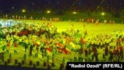 Церемония закрытия Азиатских игр в Инчхоне. 4 октября 2014 года.