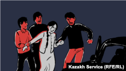 Bride kidnapping is a common practice in Kyrgyzstan and parts of Kazakhstan and Uzbekistan, even though it's prohibited by law.