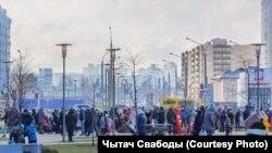 Антиурядовий марш у Мінську, 6 грудня 2020 року