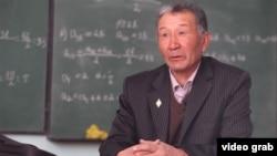 Заслуженный учитель КР Кенешбек Шоруков.