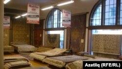 Магазин ковров, принадлежащий татарской семье в Финляндии