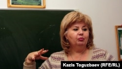 Марианна Гурина, руководитель алматинской церкви мормонов. Алматы, 23 октября 2011 года.