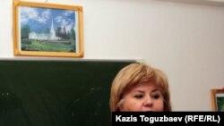 Алматыдағы мормондар шіркеуінің өкілі Марианна Гурина. Алматы, 23 қазан 2011 жыл.