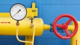 Украинадағы қысым көрсеткіші төмен, бос газ құбыры. Көрнекі сурет