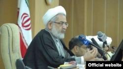محمدجعفر منتظری، رئیس دیوان عدالت اداری.