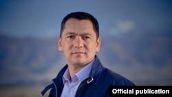 Кыргызстанский политик Омурбек Бабанов.