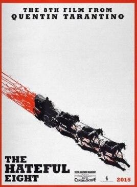 پوستر طراحی شده برای فیلم «هشت نفرت انگیز»