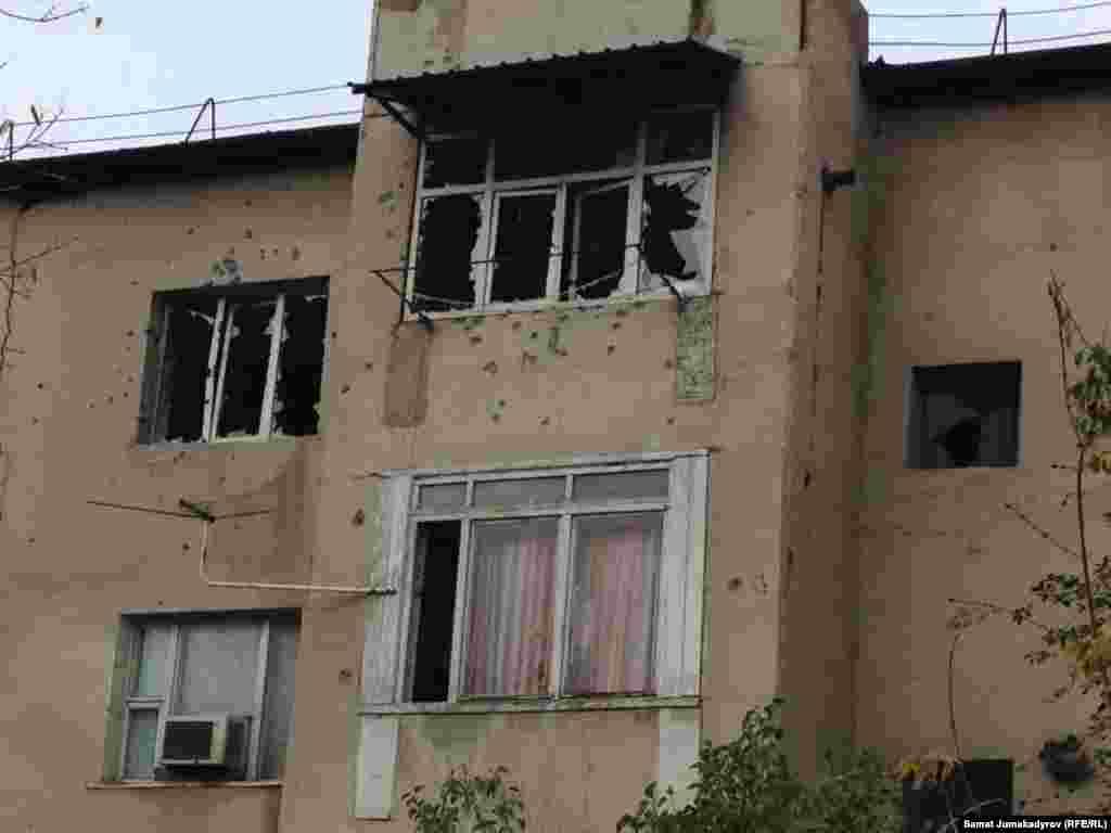 Итибаев скрывался в одной из квартир этого дома на третьем этаже.