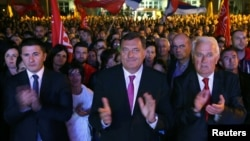 Milorad Dodik na Palama je proslavio rezultate referenduma