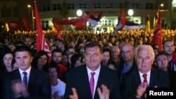Dodik je na Palama proslavio rezultate referenduma